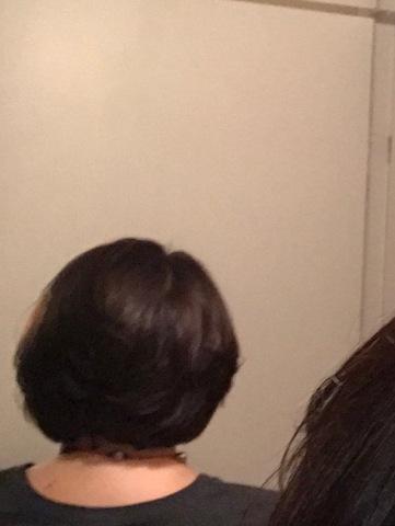 Back of my hair pre-chemo