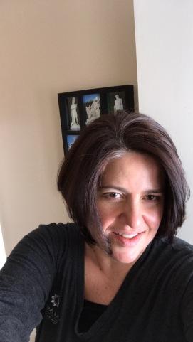 My hair pre-chemo